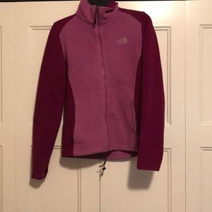 North face fleece sweatshirt